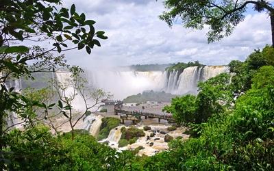 Iguazu Falls [6] wallpaper