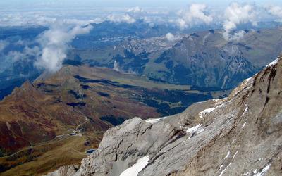 Jungfraujoch Wallpaper