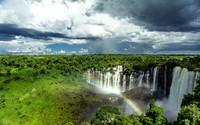 Kalandula Falls, Angola wallpaper 1920x1200 jpg
