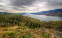 Kamloops Lake wallpaper 2880x1800 jpg