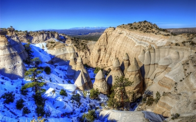 Kasha-Katuwe Tent Rocks National Monument wallpaper
