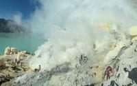 Kawah Ijen volcano [3] wallpaper 2880x1800 jpg