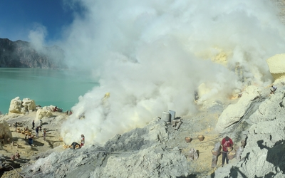 Kawah Ijen volcano [3] wallpaper