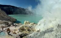 Kawah Ijen volcano [2] wallpaper 2880x1800 jpg
