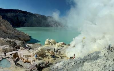 Kawah Ijen volcano [2] wallpaper