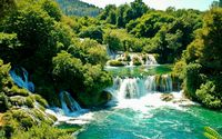 Krka National Park wallpaper 2880x1800 jpg