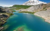 Lake Along the Alsek River wallpaper 1920x1200 jpg