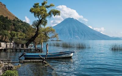 Lake Atitlan wallpaper