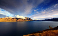 Lake Hawea - New Zealand wallpaper 2560x1600 jpg