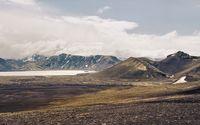 Lake in the mountain range wallpaper 2880x1800 jpg