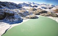 Lake in the mountains wallpaper 2560x1600 jpg