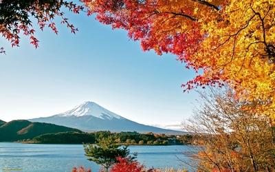 Lake Kawaguchi wallpaper