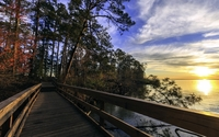 Lake Livingston State Park wallpaper 1920x1200 jpg