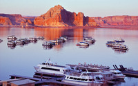 Lake Powell, Arizona wallpaper 1920x1200 jpg