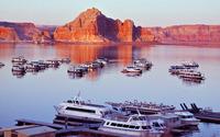 Lake Powell, Arizona wallpaper 1920x1200 jpg