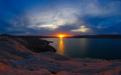 Lake Powell Sunset wallpaper