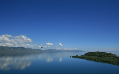 Lake Sevan wallpaper