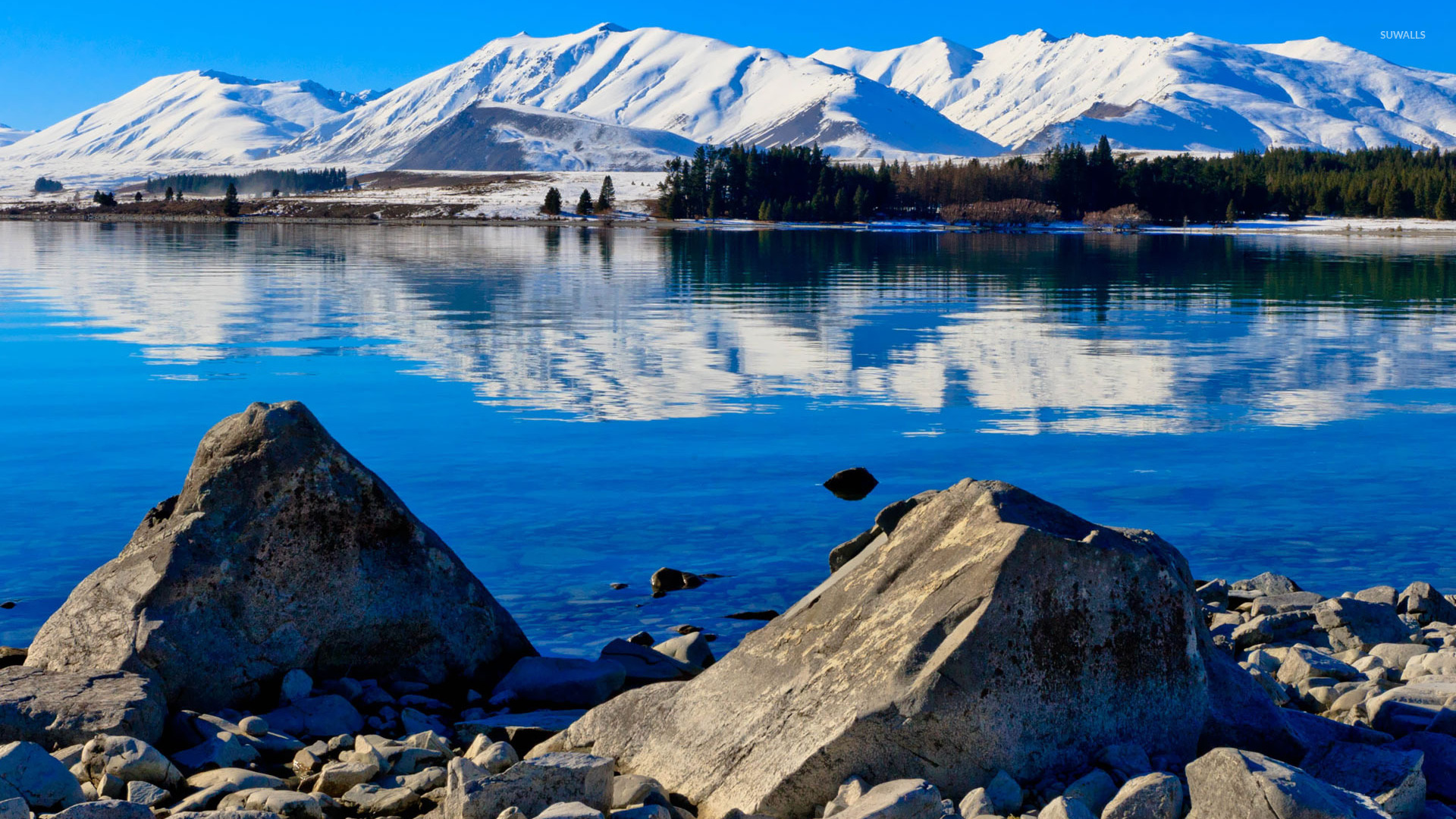 Lake Tekapo New Zealand  city photos : Lake Tekapo, New Zealand wallpaper Nature wallpapers #18445