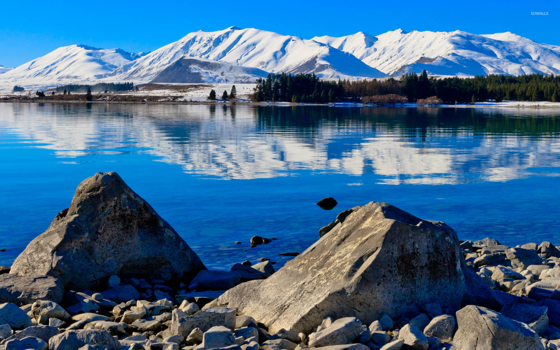Lake Tekapo New Zealand wallpaper Nature wallpapers