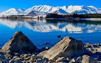 Lake Tekapo, New Zealand wallpaper 1920x1200 jpg