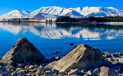 Lake Tekapo, New Zealand wallpaper