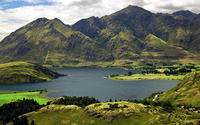 Lake Wanaka wallpaper 1920x1200 jpg