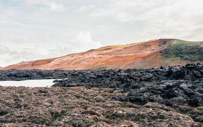 Lava field [2] wallpaper