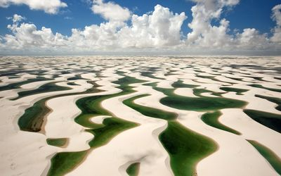 Lencois Maranhenses National Park wallpaper