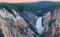 Lower Yellowstone Falls [2] wallpaper 3840x2160 jpg