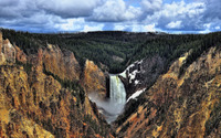 Lower Yellowstone Falls [3] wallpaper 2560x1600 jpg
