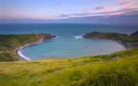 Lulworth Cove wallpaper 1920x1200 jpg