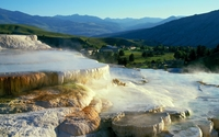 Mammoth Hot Springs wallpaper 1920x1080 jpg
