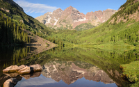Maroon Bells [2] wallpaper 1920x1200 jpg