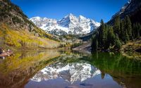 Maroon Bells wallpaper 1920x1200 jpg