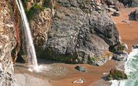 McWay Falls - Julia Pfeiffer Burns State Park [2] wallpaper 1920x1080 jpg
