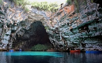 Melissani Cave wallpaper 2560x1600 jpg