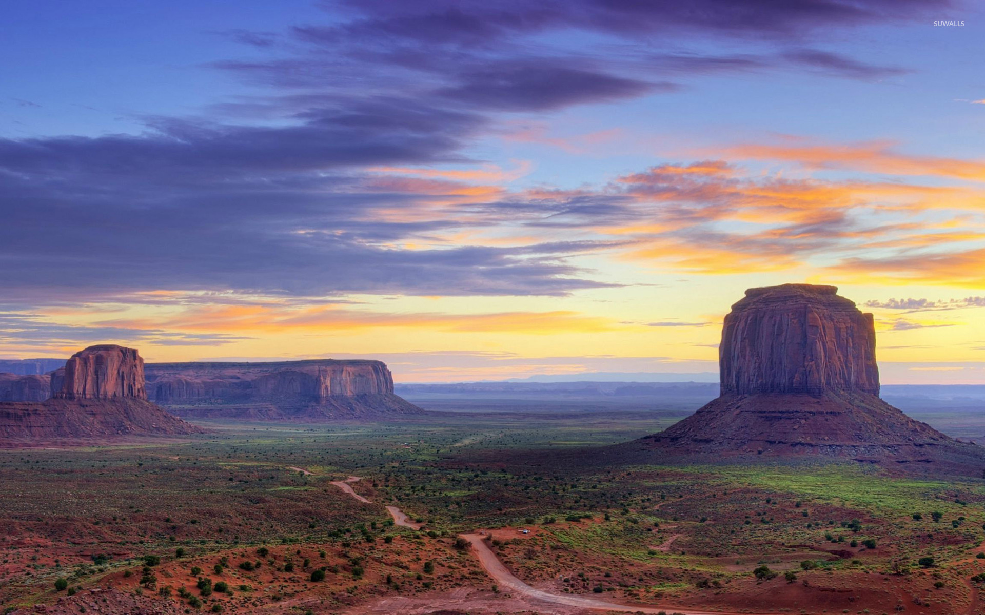 Monument Valley [4] Wallpaper