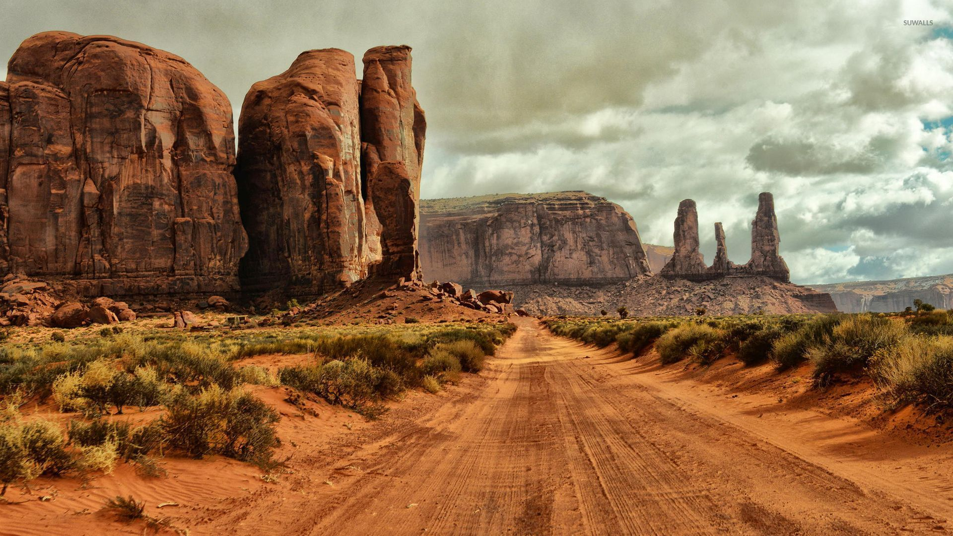 Monument Valley 8 Wallpaper