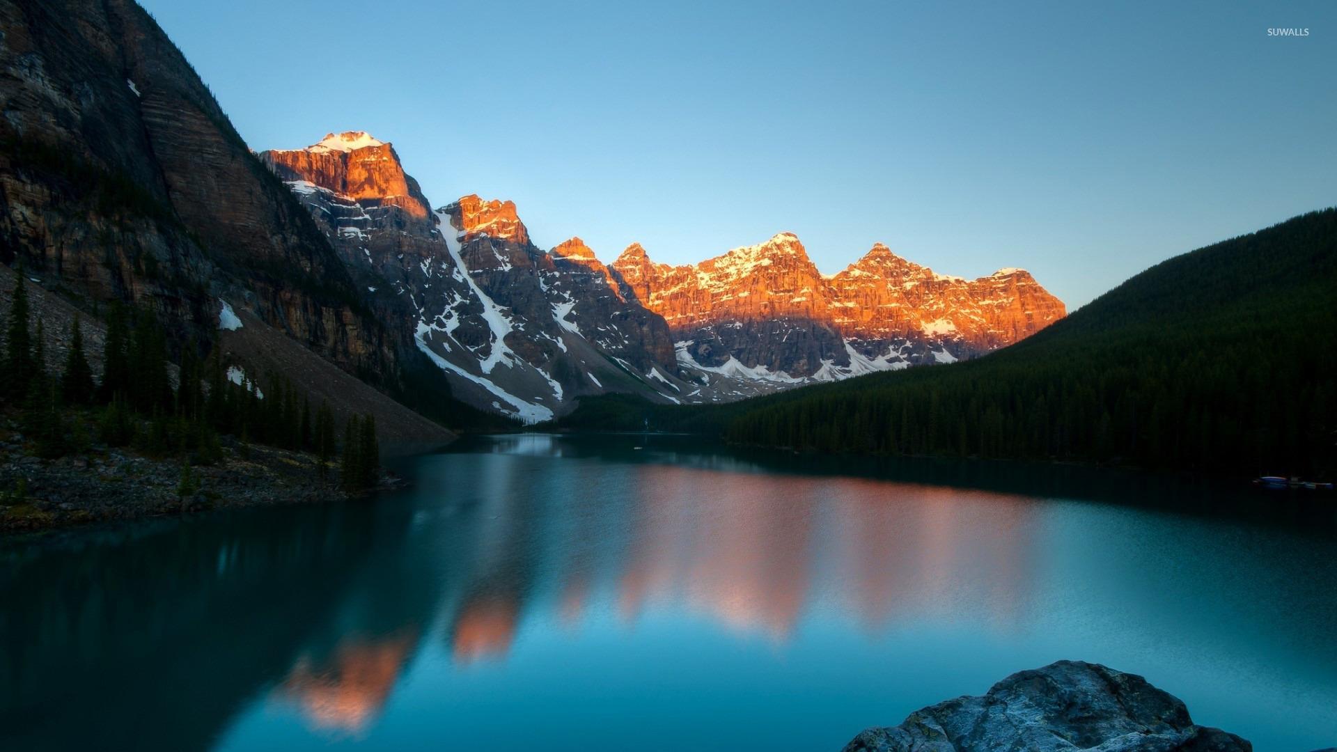 Moraine Lake Banff National Park 4 Wallpaper Nature