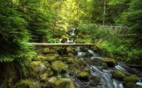 Mossy rocks in the river [2] wallpaper 2880x1800 jpg