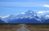 Mount Cook wallpaper 2560x1600 jpg