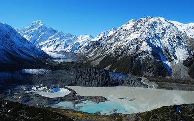 Mount Cook, New Zealand wallpaper