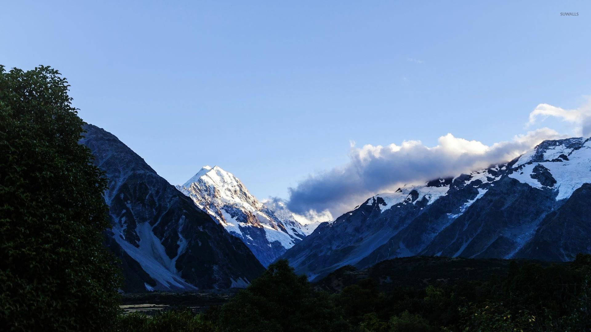 Lake Hawea New Zealand Wallpaper