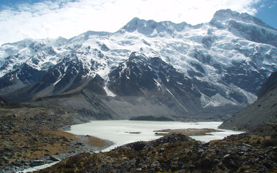 Mount Cook, New Zealand [3] wallpaper
