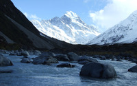 Mount Cook, New Zealand [2] wallpaper 2560x1600 jpg