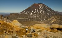 Mount Ngauruhoe [2] wallpaper 2560x1600 jpg