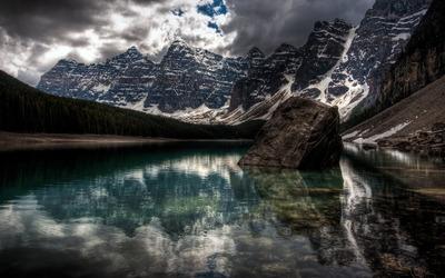 Mountain lake [9] wallpaper
