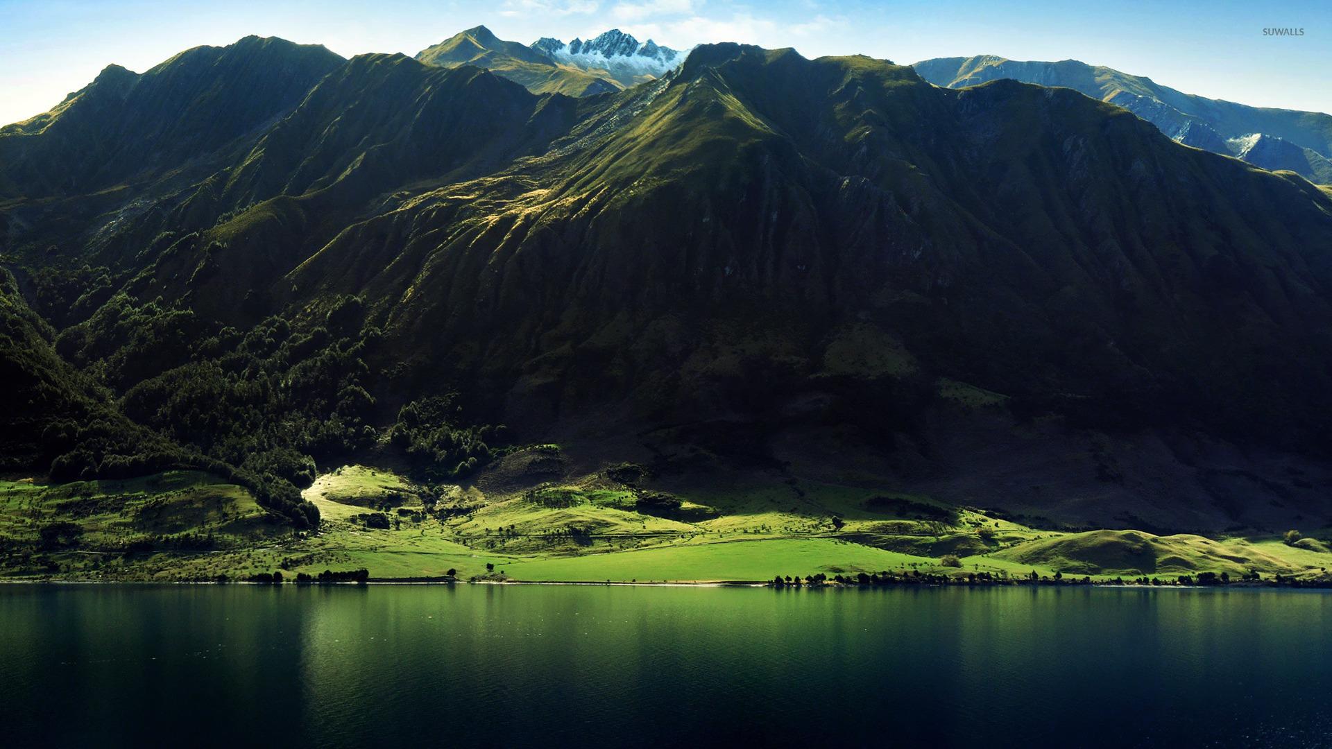 mountain lake wallpaper 1920x1080 - photo #1