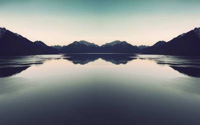 Mountain lake [11] Wallpaper
