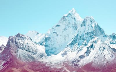 Mountain peaks [2] wallpaper
